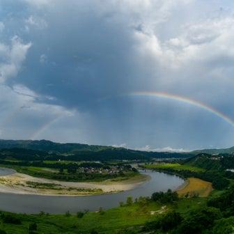 虹虹ダブルだよ!