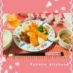 ②1人分100円台☆チキン南蛮と海老フライとクリームコロッケと温野菜とスープのおうちごはん