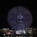 夜のお散歩…五輪ライトアップ☆