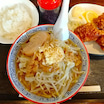 【多賀城】ラーメン(からあげ)定食〜ラーメンビリー 多賀城店