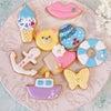 <レポ>夏休み!アイシングクッキーを作ろうの会♩お家時間をとことん楽しむ♡の画像