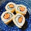 あきちゃんちのラララ♪お弁当♪さかさ鮭巻き寿司レシピ編