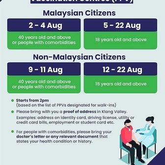 爆進中のマレーシアのワクチン事情と、首都圏のワクチン希望・外国人未接種者は悲惨?