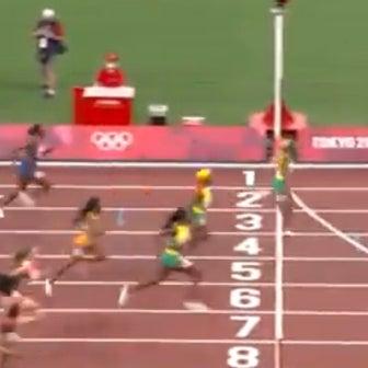 東京五輪100m