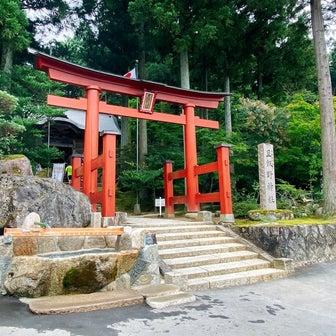お1日参り旦飯野神社さんと瓢湖の蓮の花