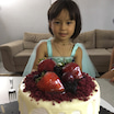 三女、4歳の誕生日