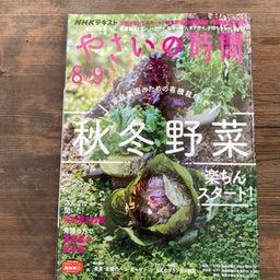 画像 【雑誌掲載】やさいの時間(NHK出版) の記事より 1つ目