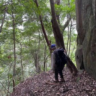 雨雲に勝った双石山散策