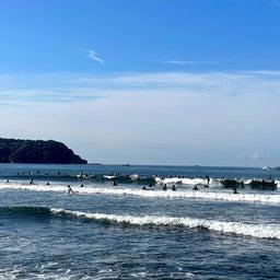 画像 今朝も少し波あり暑かった鵠沼海岸! の記事より 7つ目