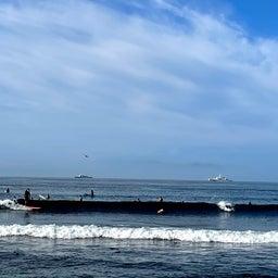 画像 今朝も少し波あり暑かった鵠沼海岸! の記事より 3つ目