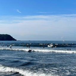 画像 今朝も少し波あり暑かった鵠沼海岸! の記事より 5つ目