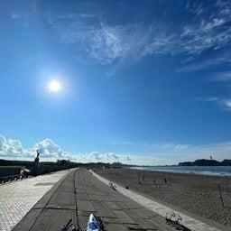 画像 今朝も少し波あり暑かった鵠沼海岸! の記事より 13つ目