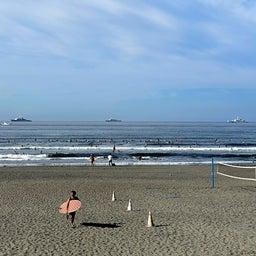 画像 今朝も少し波あり暑かった鵠沼海岸! の記事より 11つ目