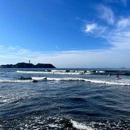 画像 今朝も少し波あり暑かった鵠沼海岸! の記事より 6つ目