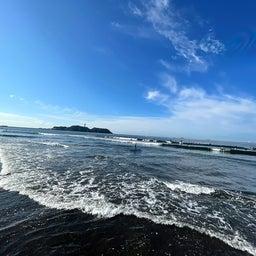 画像 今朝も少し波あり暑かった鵠沼海岸! の記事より 2つ目