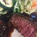 浅間ミートの赤城牛ステーキ