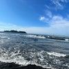 今朝も少し波あり暑かった鵠沼海岸!の画像