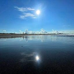 画像 今朝も少し波あり暑かった鵠沼海岸! の記事より 1つ目
