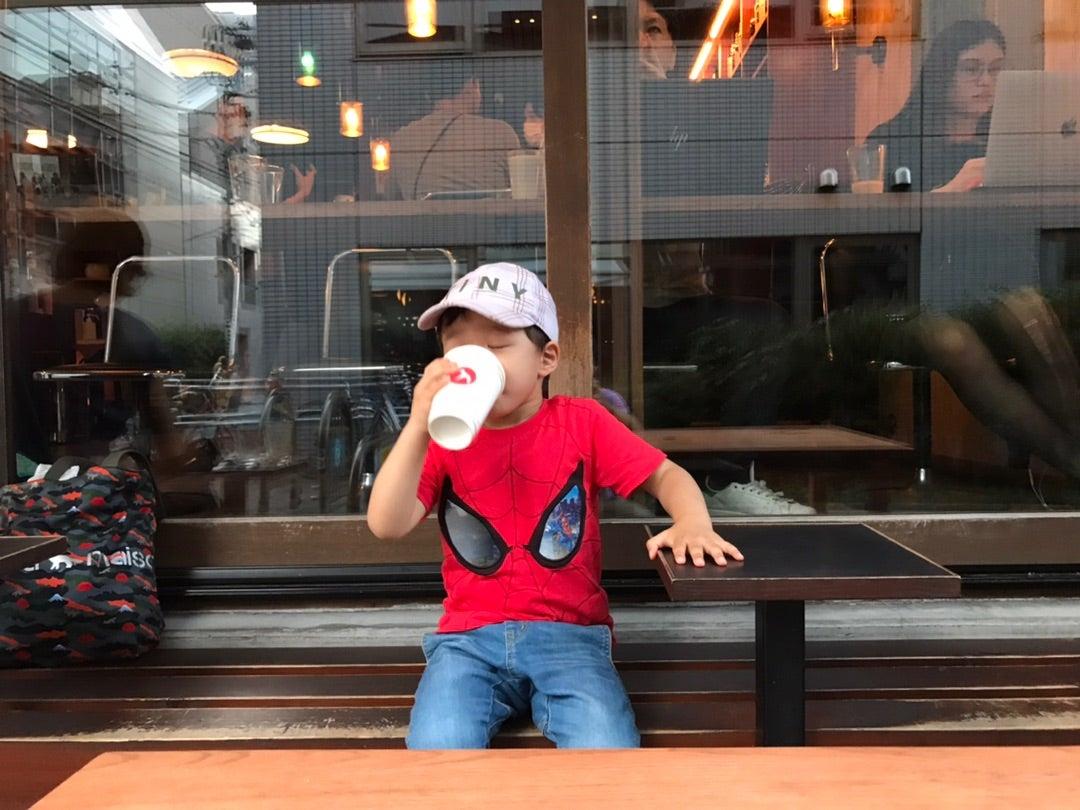 フグレン東京でハニーミルクを!