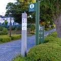 基坂・バス通り交差点の発見