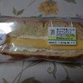 白バラ牛乳パンのかすてらサンド
