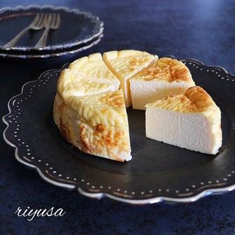 【調理時間5分】材料3つでカルピスのベイクドチーズケーキ