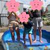 水遊びの画像