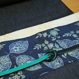 画像 単衣から袷まで使える―紬地絞り帯揚げ の記事より 4つ目