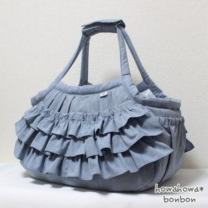 MちゃんIちゃんのキャリーバッグが出来上がりました☆2021.08.04④の画像