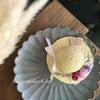 夏にピッタリ麦わら帽子アレンジ*夏のワークショップ祭りの画像
