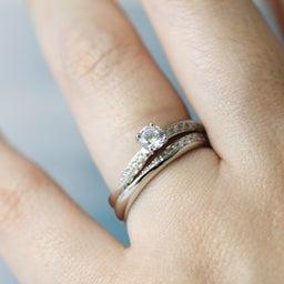 画像 アニバーサリーリングや婚約指輪としてもぴったりのエタニティリング✧*【AFFLUX京都雅店】 の記事より 2つ目