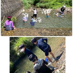 川遊び と 農林高校の画像