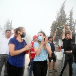 【祈りの奇跡?】史上最悪の山火事に襲われているトルコに降る季節外れの雨。の画像