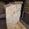 モルタル造形で制作するオリジナル立水栓完成の画像