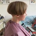 レトロな散髪屋さん