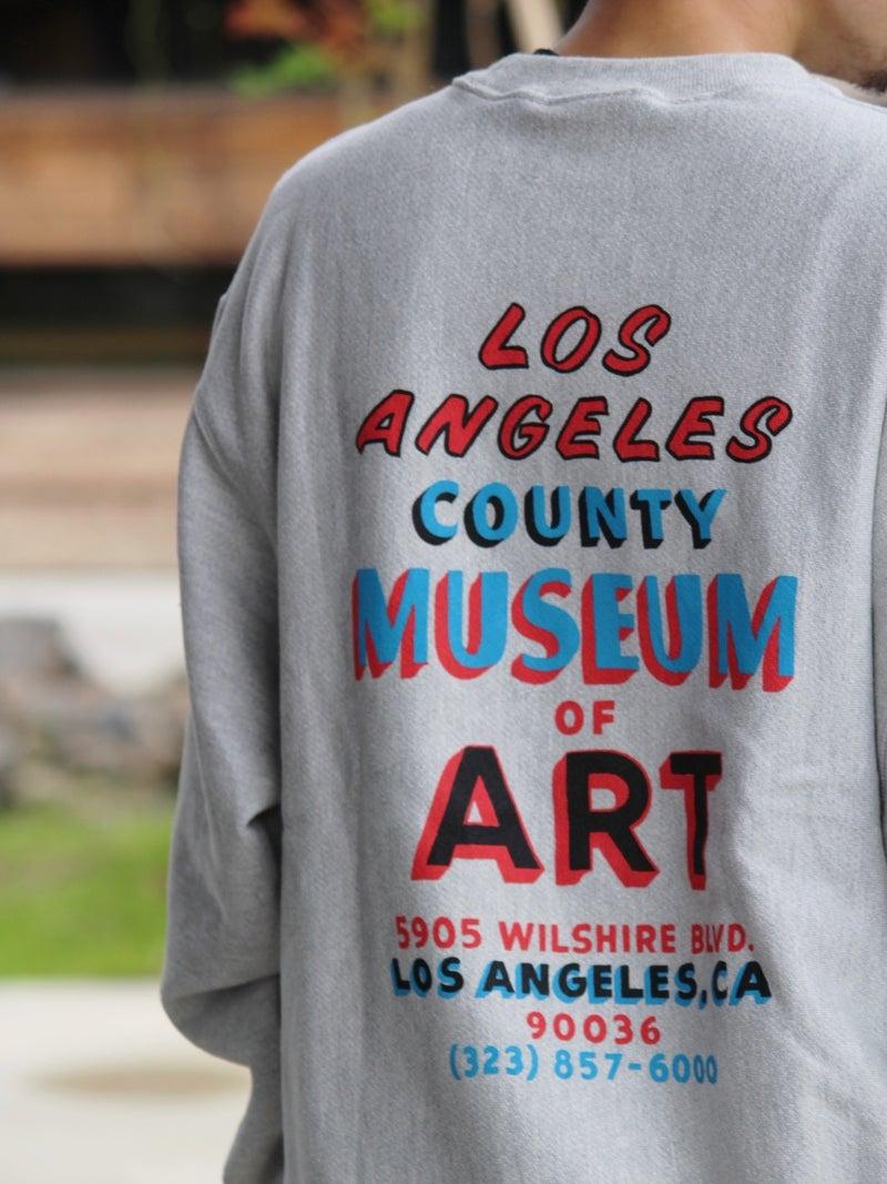 """ロサンゼルスの美術館のオリジナルスウェット""""image"""""""