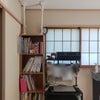 【我が家】本棚の防災グッズの画像
