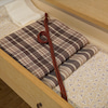 おがわ屋箪笥は、単衣&坂口さんの織帯コーデの画像