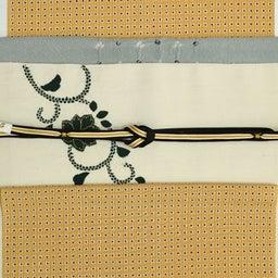 画像 単衣から袷まで使える―紬地絞り帯揚げ の記事より 3つ目