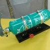 ランボルギーニ アヴェンタドール用消火器セットの画像