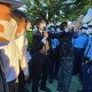 【静かな8.6を取り戻せ!】広島・原爆ドーム前で中核派に怒涛の抗議!
