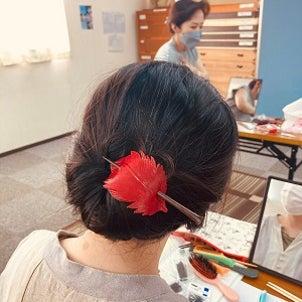 所作マナー&和のヘアメイク講座 開催の画像