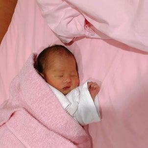 去年の午前11時58分。㊗️赤ちゃんの1歳記念日の画像