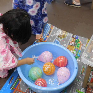 【kodomo鶴見東口教室】8月カリキュラム「夏祭り」の画像