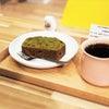 【限定メニュー】自家製抹茶あんケーキの画像