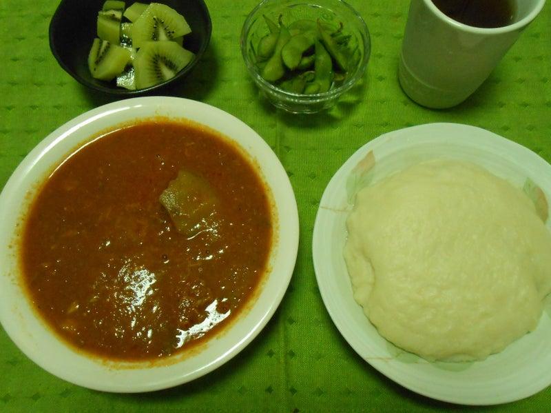 スープとフフ