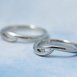 画像 誰もいない海をひとり占め!波モチーフの個性的な結婚指輪も♪【AFFLUX京都雅店】 の記事より 3つ目