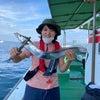 船釣り体験・タチウオ釣りの画像