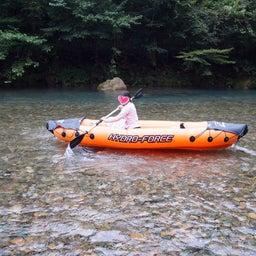 画像 龍の国オートキャンプ場で川遊び♪① の記事より 10つ目