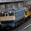 2021.9.9 工9366レ 宝殿工臨返空 EF65 1133+ロンシキ12B 茨木駅の画像